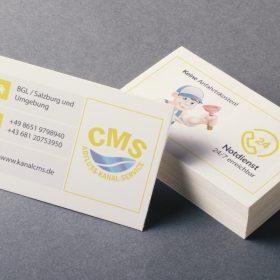 CMS Visitenkarte