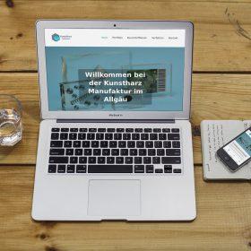 Kunstharz Laptop